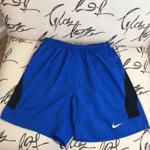 Nike men's medium running shorts.